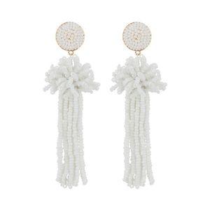 Anthropologie Jewelry - BaubleBar Rishita Beaded Tassel Drop Earrings